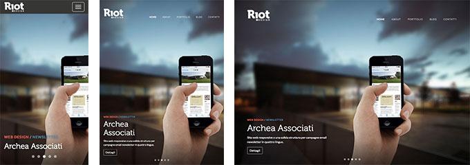 デザイン会社のサイト。